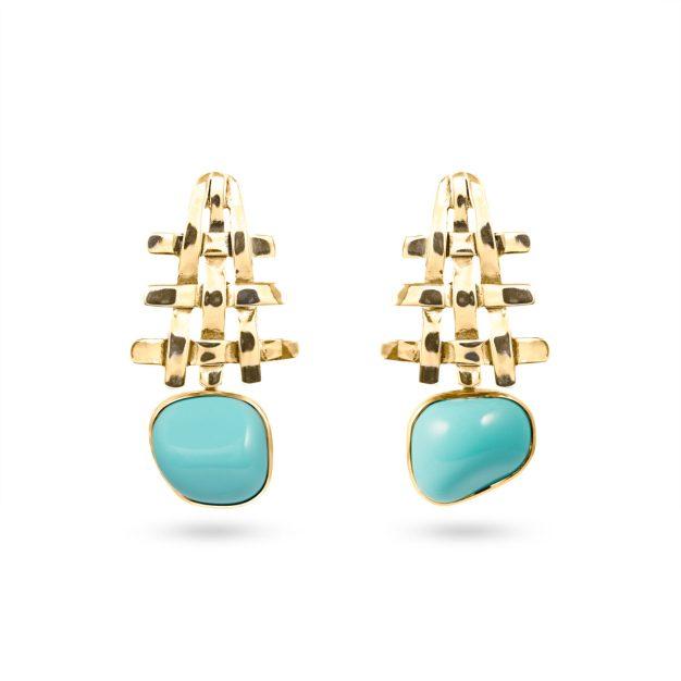 Pagoda Earrings OR_1143BP@