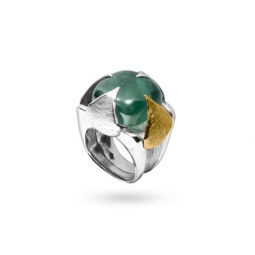 Honeydrop Collection Silver ring AN_329ABP@_1